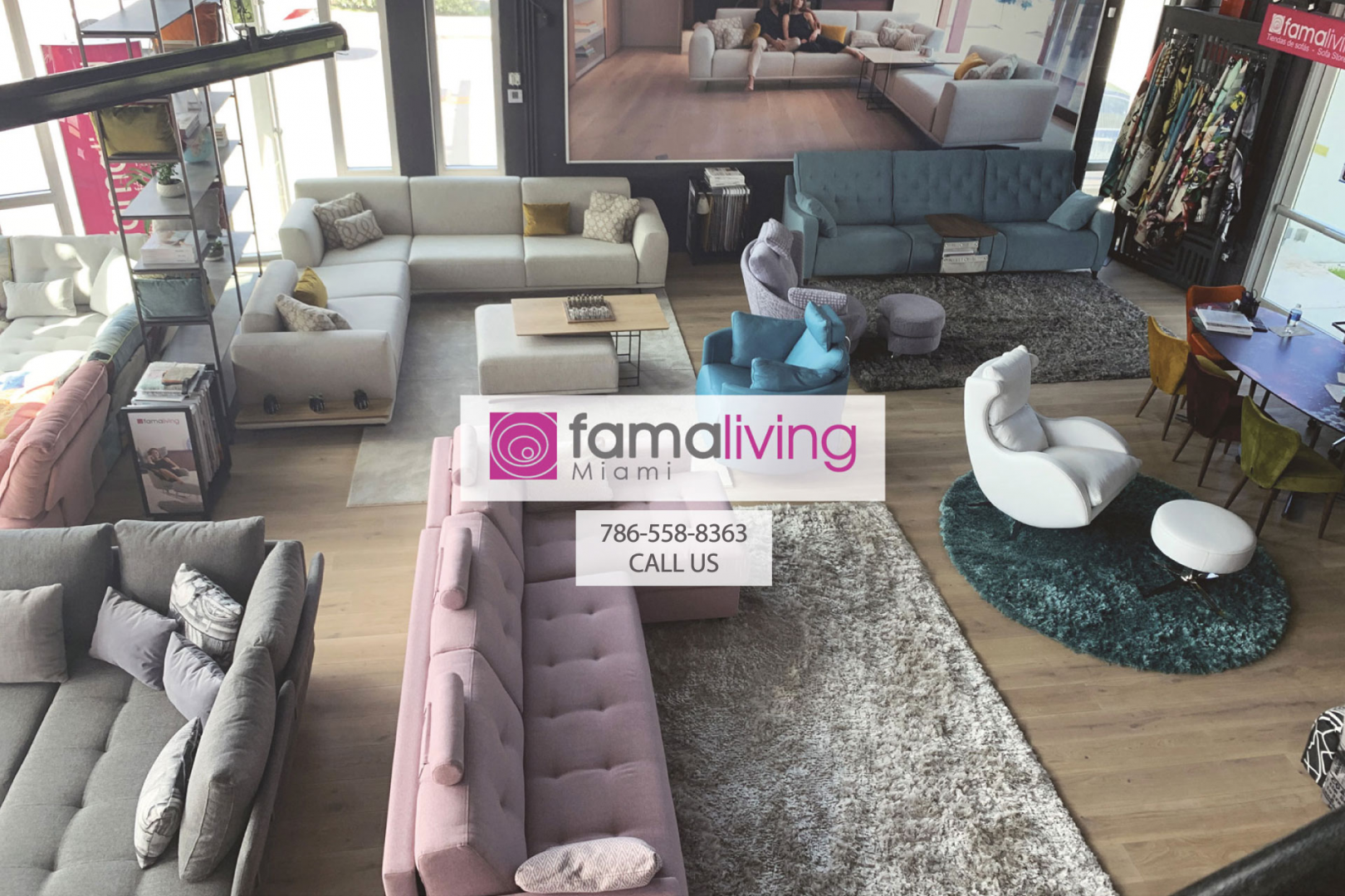<p>Famaliving Miami | Sofa Store<br></p>